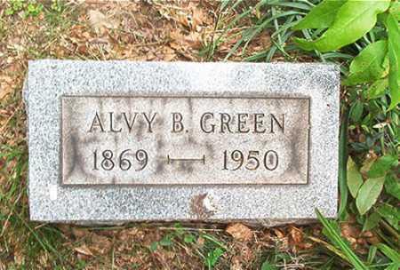 GREEN, ALVY B. - Columbiana County, Ohio   ALVY B. GREEN - Ohio Gravestone Photos