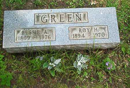BLAZER GREEN, BESSIE A. - Columbiana County, Ohio   BESSIE A. BLAZER GREEN - Ohio Gravestone Photos