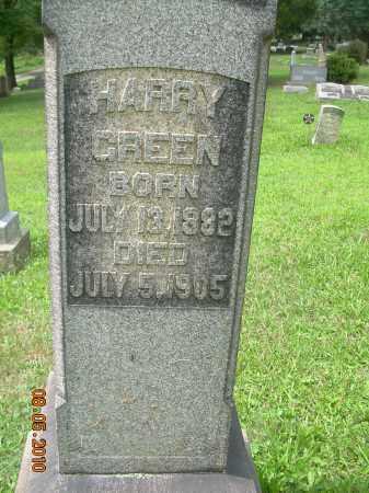 GREEN, HARRY - Columbiana County, Ohio | HARRY GREEN - Ohio Gravestone Photos