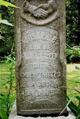 GREEN, JOSEPH E. [CLOSE UP VIEW] - Columbiana County, Ohio | JOSEPH E. [CLOSE UP VIEW] GREEN - Ohio Gravestone Photos