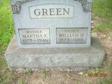 GREEN, WILLIAM H - Columbiana County, Ohio | WILLIAM H GREEN - Ohio Gravestone Photos