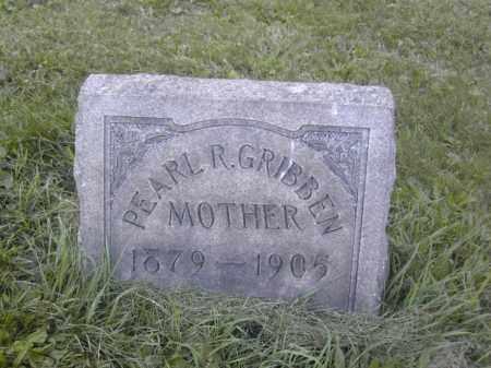GRIBBEN, PEARL R. - Columbiana County, Ohio | PEARL R. GRIBBEN - Ohio Gravestone Photos