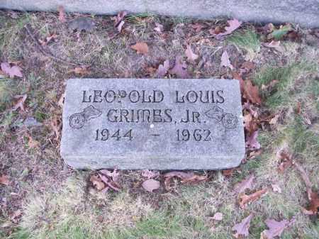 GRIMES, LEOPOLD LOUIS JR. - Columbiana County, Ohio | LEOPOLD LOUIS JR. GRIMES - Ohio Gravestone Photos