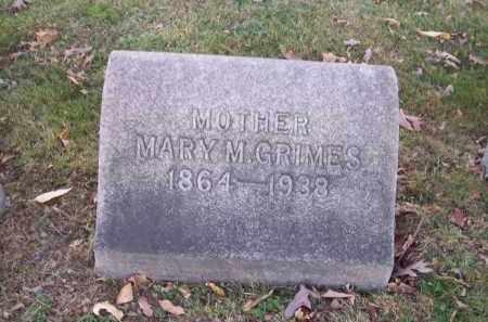 GRIMES, MARY M. - Columbiana County, Ohio | MARY M. GRIMES - Ohio Gravestone Photos