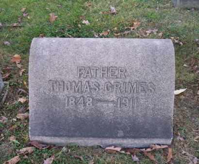 GRIMES, THOMAS - Columbiana County, Ohio | THOMAS GRIMES - Ohio Gravestone Photos