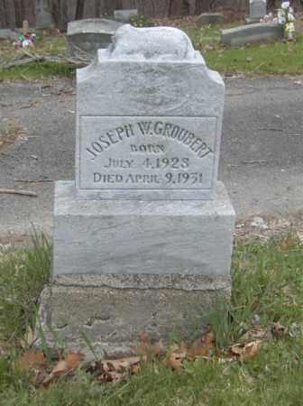 GROUBERT, JOSEPH W. - Columbiana County, Ohio | JOSEPH W. GROUBERT - Ohio Gravestone Photos