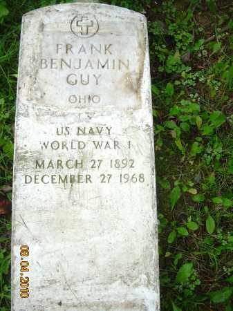 GUY, FRANK BENJAMIN - Columbiana County, Ohio | FRANK BENJAMIN GUY - Ohio Gravestone Photos