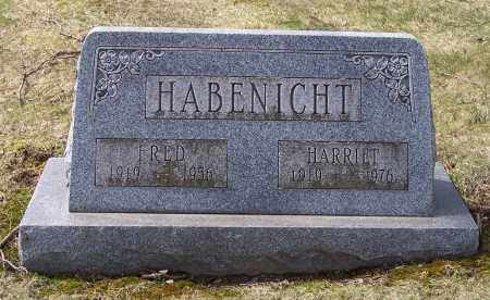 HABENICHT, FRED - Columbiana County, Ohio | FRED HABENICHT - Ohio Gravestone Photos