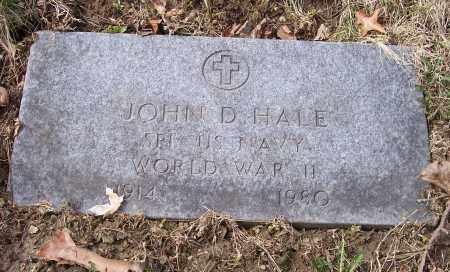 HALE, JOHN D. - Columbiana County, Ohio | JOHN D. HALE - Ohio Gravestone Photos