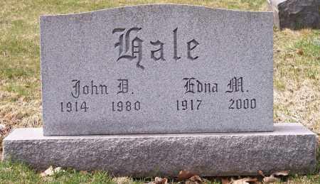 HALE, EDNA M. - Columbiana County, Ohio | EDNA M. HALE - Ohio Gravestone Photos