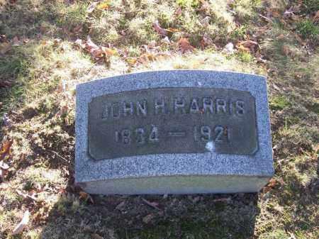 HARRIS, JOHN H. - Columbiana County, Ohio | JOHN H. HARRIS - Ohio Gravestone Photos