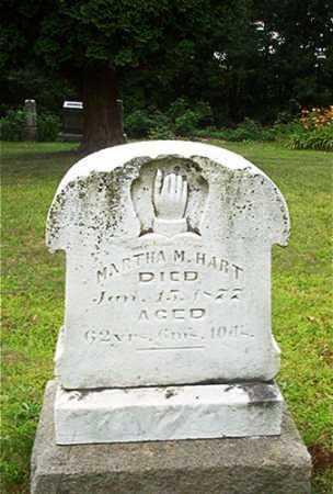 HART, MARTHA M. - Columbiana County, Ohio | MARTHA M. HART - Ohio Gravestone Photos