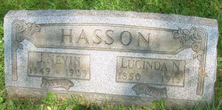 HASSON, LUCINDA N. - Columbiana County, Ohio | LUCINDA N. HASSON - Ohio Gravestone Photos