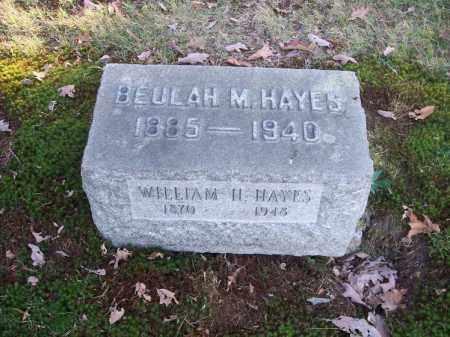 HAYES, BEULAH M. - Columbiana County, Ohio | BEULAH M. HAYES - Ohio Gravestone Photos