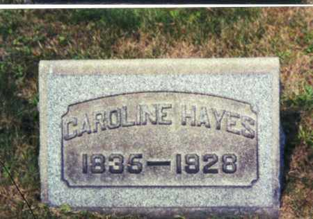 HAYES, CAROLINE - Columbiana County, Ohio | CAROLINE HAYES - Ohio Gravestone Photos