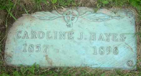 HAYES, CAROLINE JOSEPHINE - Columbiana County, Ohio | CAROLINE JOSEPHINE HAYES - Ohio Gravestone Photos