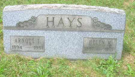 HAYS, ARNOTT T - Columbiana County, Ohio | ARNOTT T HAYS - Ohio Gravestone Photos