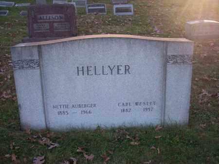 HELLYER, CARL WESLEY - Columbiana County, Ohio | CARL WESLEY HELLYER - Ohio Gravestone Photos