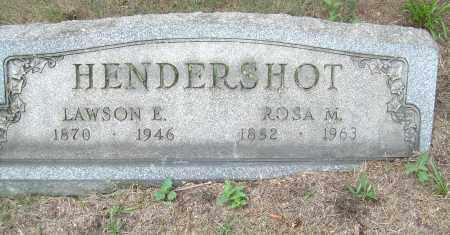 HENDERSHOT, ROSA M - Columbiana County, Ohio | ROSA M HENDERSHOT - Ohio Gravestone Photos