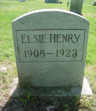 HENRY, ELSIE - Columbiana County, Ohio | ELSIE HENRY - Ohio Gravestone Photos