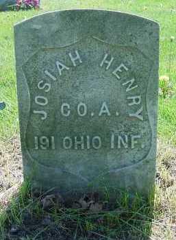 HENRY, JOSIAH - Columbiana County, Ohio | JOSIAH HENRY - Ohio Gravestone Photos