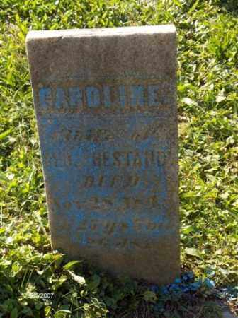 HESTAND, CAROLINE - Columbiana County, Ohio | CAROLINE HESTAND - Ohio Gravestone Photos