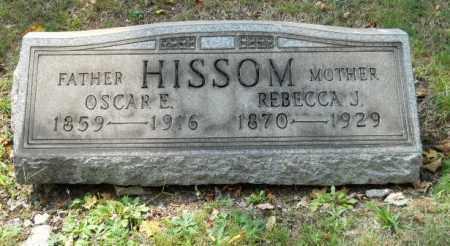 HISSOM, OSCAR E - Columbiana County, Ohio | OSCAR E HISSOM - Ohio Gravestone Photos