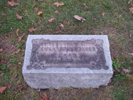 HOOD, ANNA - Columbiana County, Ohio   ANNA HOOD - Ohio Gravestone Photos