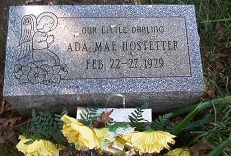 HOSTETTER, ADA MAE - Columbiana County, Ohio | ADA MAE HOSTETTER - Ohio Gravestone Photos