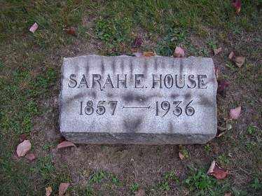 HOUSE, SARAH E. - Columbiana County, Ohio | SARAH E. HOUSE - Ohio Gravestone Photos
