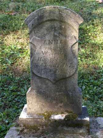 HUMPHREYS, ANNA - Columbiana County, Ohio | ANNA HUMPHREYS - Ohio Gravestone Photos