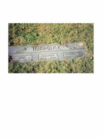 HUMPOLICK, JOHN - Columbiana County, Ohio | JOHN HUMPOLICK - Ohio Gravestone Photos