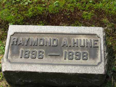 HUNE, RAYMOND A. - Columbiana County, Ohio | RAYMOND A. HUNE - Ohio Gravestone Photos