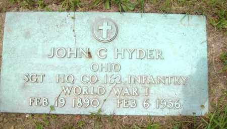 HYDER, JOHN C - Columbiana County, Ohio   JOHN C HYDER - Ohio Gravestone Photos