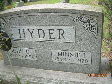 HYDER, MINNIE I - Columbiana County, Ohio | MINNIE I HYDER - Ohio Gravestone Photos