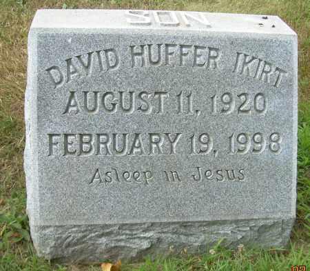 IKIRT, DAVID HUFFER - Columbiana County, Ohio | DAVID HUFFER IKIRT - Ohio Gravestone Photos
