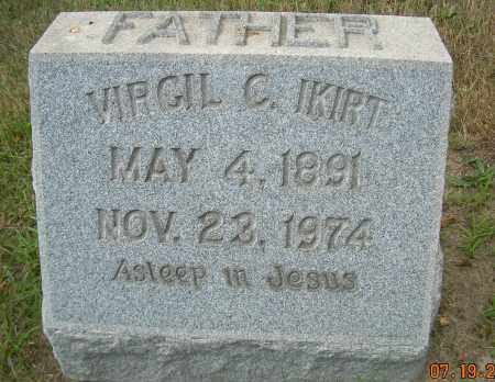 IKIRT, VIRGIL C - Columbiana County, Ohio | VIRGIL C IKIRT - Ohio Gravestone Photos