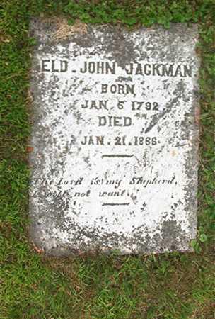 JACKMAN, JOHN - Columbiana County, Ohio   JOHN JACKMAN - Ohio Gravestone Photos