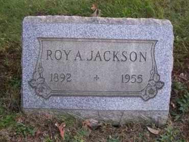 JACKSON, ROY A. - Columbiana County, Ohio   ROY A. JACKSON - Ohio Gravestone Photos