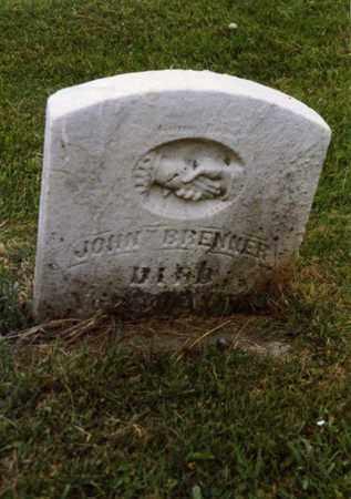 JOHN, BRENNER - Columbiana County, Ohio   BRENNER JOHN - Ohio Gravestone Photos