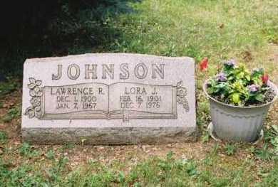 JOHNSON, LAWRENCE R - Columbiana County, Ohio | LAWRENCE R JOHNSON - Ohio Gravestone Photos