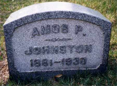 JOHNSTON, AMOS PRESLEY - Columbiana County, Ohio | AMOS PRESLEY JOHNSTON - Ohio Gravestone Photos