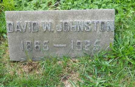 JOHNSTON, DAVID W - Columbiana County, Ohio | DAVID W JOHNSTON - Ohio Gravestone Photos