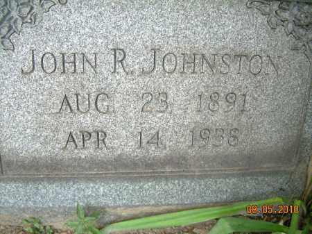 JOHNSTON, JOHN R - Columbiana County, Ohio | JOHN R JOHNSTON - Ohio Gravestone Photos