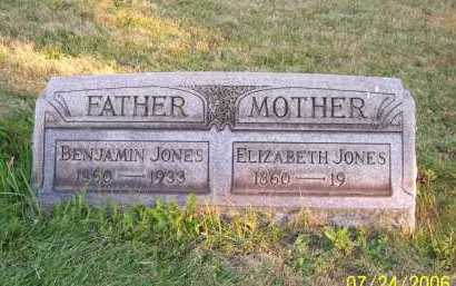 JONES, ELIZABETH - Columbiana County, Ohio | ELIZABETH JONES - Ohio Gravestone Photos