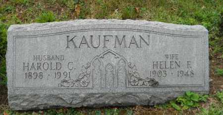 KAUFMAN, HAROLD C - Columbiana County, Ohio | HAROLD C KAUFMAN - Ohio Gravestone Photos