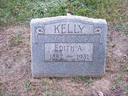 KELLY, EDITH A. - Columbiana County, Ohio   EDITH A. KELLY - Ohio Gravestone Photos