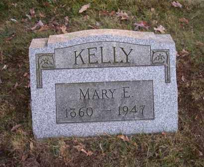 KELLY, MARY E. - Columbiana County, Ohio | MARY E. KELLY - Ohio Gravestone Photos