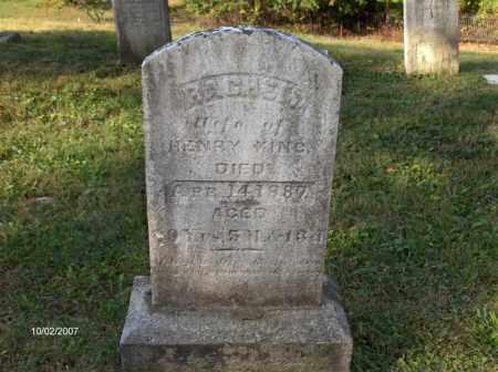 KING, RACHEL - Columbiana County, Ohio | RACHEL KING - Ohio Gravestone Photos
