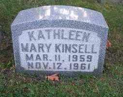 KINSELL, KATHLEEN MARY - Columbiana County, Ohio | KATHLEEN MARY KINSELL - Ohio Gravestone Photos